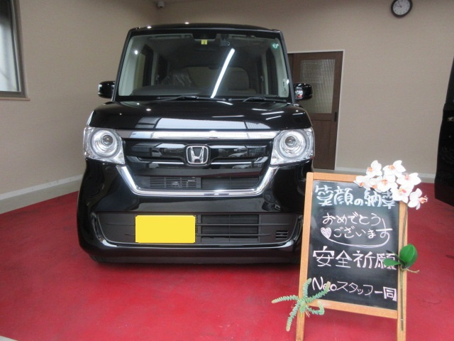 兵庫県姫路市M様 N-BOX カーリース